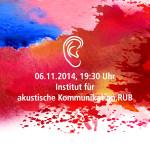 Ruhr-Universität, 6.11.2014